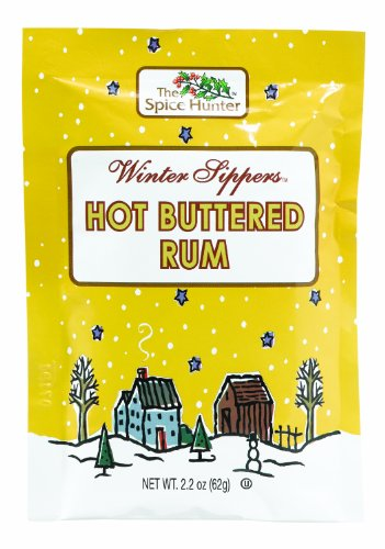 The Spice Hunter Hot Buttered Rum Packet, 2.2-Ounce Packages (Pack of 12)