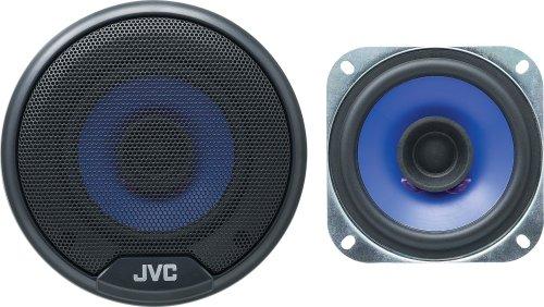 Jvc Cs-V414 4-Inch Dual Cone Speakers (Pair, Blue)