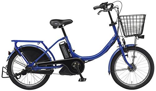YAMAHA(ヤマハ) PAS Babby 電動自転車 20インチ 2015年モデル [8.7Ahリチウムイオン電池、トリプルセンサーシステム、オートライト] アメリカンブルー PM20B