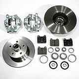 VW T3 - 2 x Bremssattel / Bremszange + 2 Bremsscheiben + Bremsbeläge + 2 Radlager für links + rechts vorne / Vorderachse