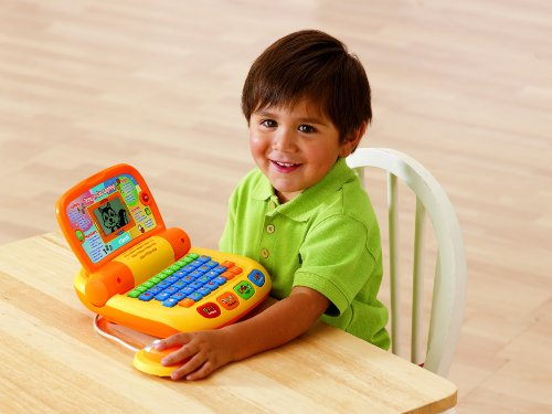 Imagen de El aprendizaje VTech Preschool Tote & Go Laptop - 2010 Version