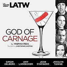 God of Carnage Performance Auteur(s) : Yasmina Reza,  Christopher Hampton - translation Narrateur(s) : Simon Helberg, Amy Landecker, Josh Stamberg, Jocelyn Towne