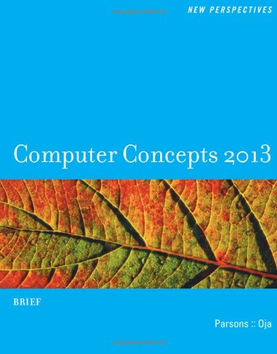 New Perspectives On Computer Concepts 2013: Brief (New Perspectives (Course Technology Paperback)) front-994362