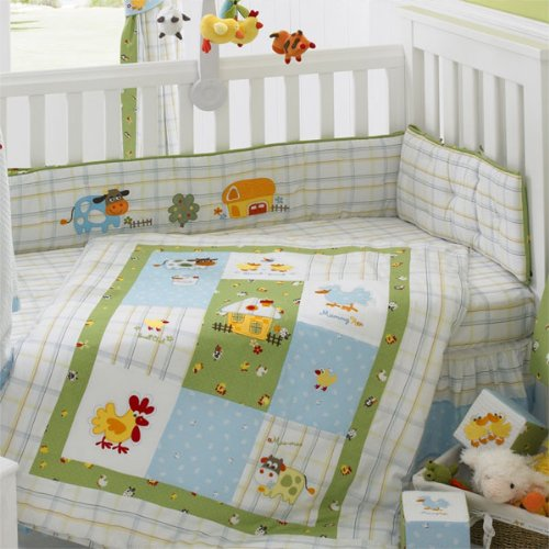 Living Textiles Baby Little Farm Crib Bedding