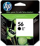 HP Tintenpatrone schwarz C6656AE UUS 56 19ml 520 Seiten 1er-Pack