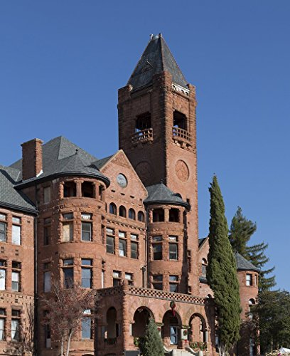 Ione, CA - Photo - 24x16 - Preston Castle was the main building of the Preston School of Industry, once one of the oldest and best-known