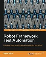 Robot Framework Test Automation Front Cover