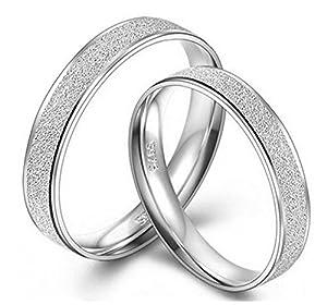 Infinite U 925 Sterling Silver Women's Comfort Fit Plain Wedding Band Ring (Women, Size 5.5)