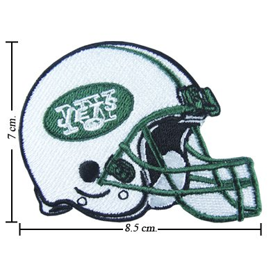 New York Jets Helmet Logo Embroidered Sew Iron on Patches Great Gift for Dad Mom Man Woman at Amazon.com