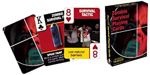 Zombie Survival Playing Cards