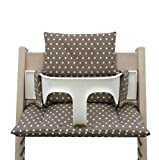 Blausberg Baby High Chair Cushion for Tripp Trapp Taupe with stars