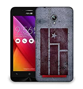 Snoogg red flag Designer Protective Back Case Cover For Asus Zenfone GO