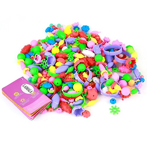 LAIMALA Colourful Beads Toys for Kids Handmade DIY…
