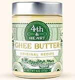 4th & Heart Grass-Fed Ghee Butter, Original, 9 Ounce