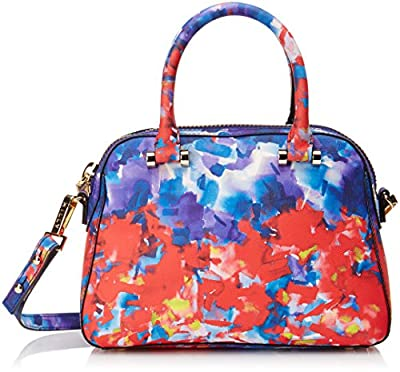 MILLY Watercolor Small Satchel Top-Handle Bag