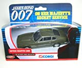 Corgi james bond 007 aston martin DBS on her majestys secret service the ultimate bond collection diecast model