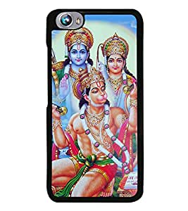 Lord Hanuman 2D Hard Polycarbonate Designer Back Case Cover for Micromax Canvas Fire 4 A107