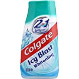 Colgate 2in1 Icy Blast Whitening Toothpaste 100ml - (Pack of 4)