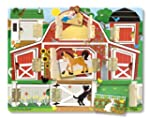 Melissa & Doug Magnetic Farm Hide and...