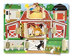 Melissa & Doug Magnetic Farm Hide and Seek