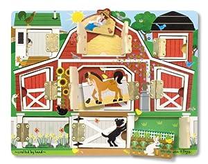 Melissa & Doug Magnetic Farm Hide and Seek