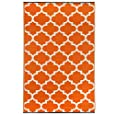 Tangier - Carrot & White (4' x 6')