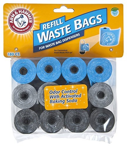 arm-hammer-71040-disposable-waste-bag-refills-assorted-180-2-pack