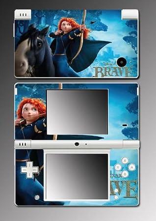 Brave Merida Archer Pretty Girl Movie Video Game Vinyl Decal Cover Skin Protector #3 for Nintendo DSi