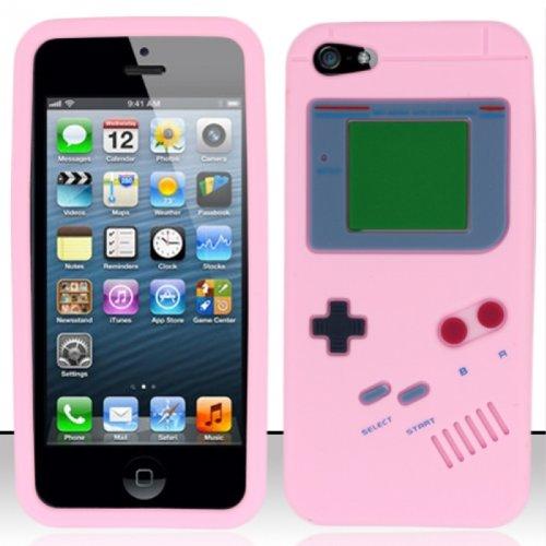 Flashbacks Old School Retro Gameboy Style Iphone 5 Case Pink
