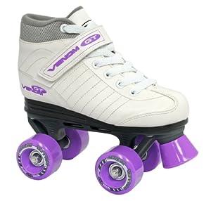 Roller Derby Girl's Venom Quad Skate, Size 04