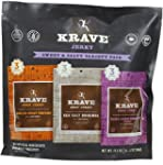 Krave Jerky Sweet & Salty Variety Pac...