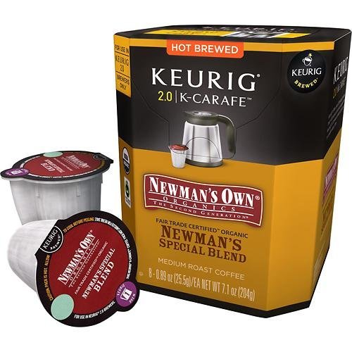Keurig 2.0 Newman's Own Special Blend K-carafe Packs (8) (K Carafe Keurig compare prices)