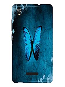 TREECASE Designer Printed Soft Silicone Back Case Cover For Gionee P5W
