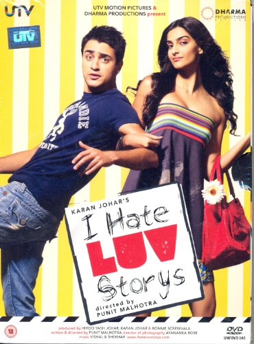 I Hate Luv Storys - DVD (Indian Cinema/Hindi Film/Bollywood Movie)