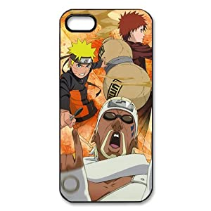 ePcase Naruto Gaara and Killer Bee in Naruto Printed Black Hard Case Cover for iPhone 5