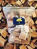 J.C.'s Smoking Wood Chunks - Gallon Sized bag - Pecan
