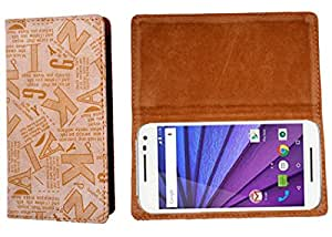 R&A Flip Cover For Sony Xperia U