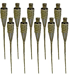 3 Feet Bamboo Torch - Pack of 10