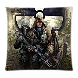 UK-Jewelry Vintage Shooting Games Wallpapers Case Two Side Pillowcases 18x18 Inch by UK-Jewelry