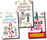 Milly Johnson Milly Johnson 3 Books Collection Pack Set RRP: £21.97 (A Spring Affair, The Birds & Bees, A Summer Fling)