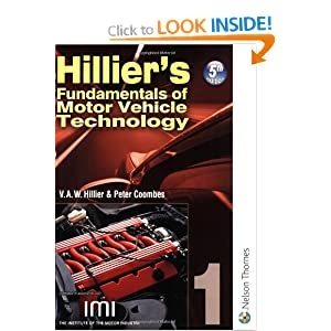 Hilliers Fundamentals Of Motor Vehicle Technology 5th Edition Book 1 Bk 1 V A W