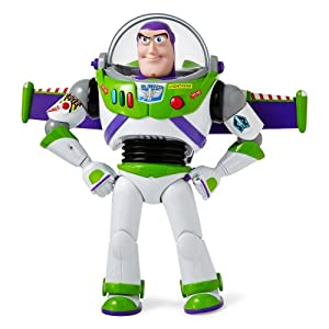 Amazon.com: Disney Buzz Lightyear Talking Action Figure