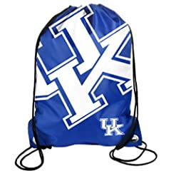 Buy Forever Collectibles NCAA Kentucky Wildcats Drawstring Backpack by Forever Collectibles