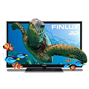 Finlux 47F7010 47 Inch Widescreen Full HD 1080p 3D LED Ultra-Slim TV with Freeview & PVR