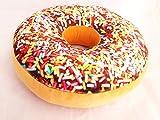 ドーナツ クッション リアル donut 枕 選べる 5種類 セット おまけ付き(カラフル)