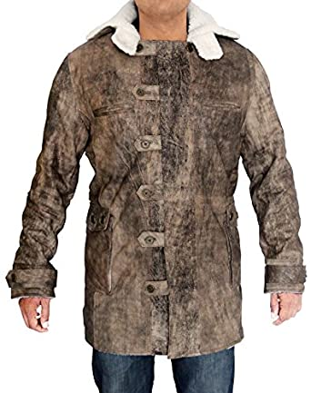 Best Selling The Dark Knight Rises Bane Coat Real Leather