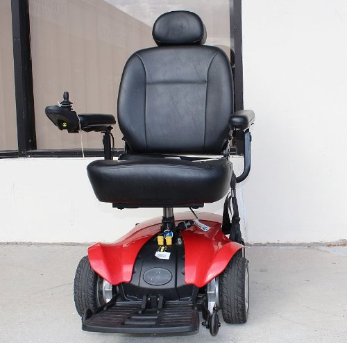 Jazzy Select Elite Power Wheelchair Certified Used Powerchair - Red