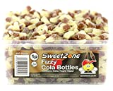 SweetZone 100% Halal Jelly Sweets -Fizzy Cola Bottles 1KG Bag