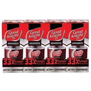 good knight activ 60 n liquid refill pack of 4 red