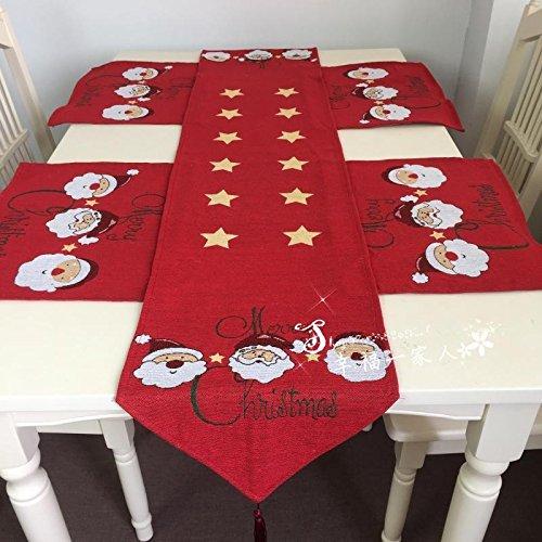weihnachten dekoration weihnachten tischl ufer continental. Black Bedroom Furniture Sets. Home Design Ideas